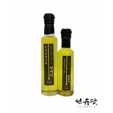 선유당 냉압착 생흑임자기름 250㎖ (수입산)